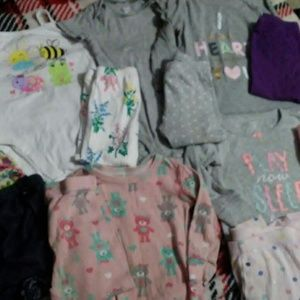 Baby girl bundle size 18months